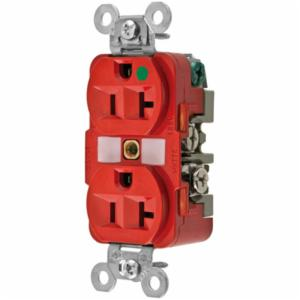 Wiring Device-Kellems HBL8300RED